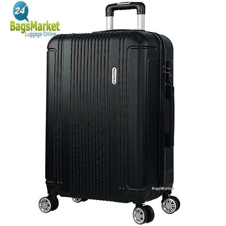 กระเป๋าเดินทาง กระเป๋าเดินทางล้อลาก Romar Polo  24 นิ้ว Polo-RI1524 (Black) ต้องการเปลี่ยนส กระเป๋าล้อลาก กระเป๋าเดินทาง