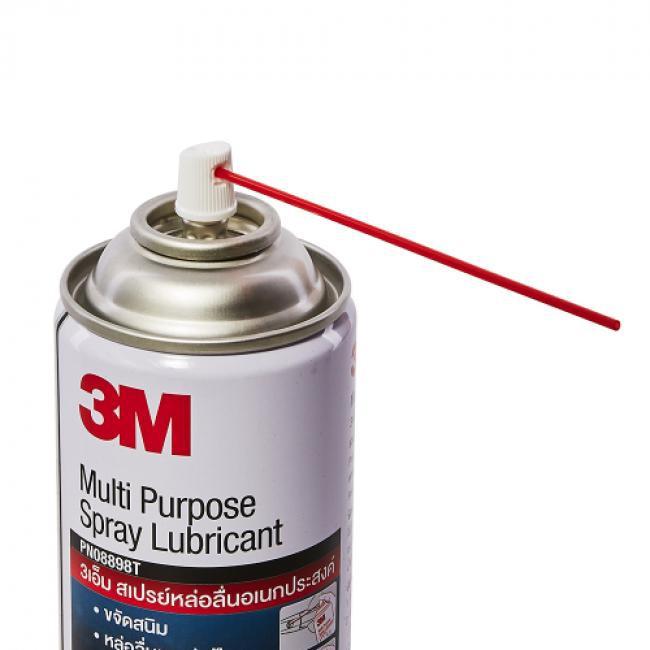 3M Multi-Purpose Lubricant Spray3เอ็ม ผลิตภัณฑ์หล่อลื่นอเนกประสงค์ PN08898T ขนาด 400 มิลลิลิตร