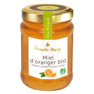 Organic Orange Blossom Honey 230G Famille Mary