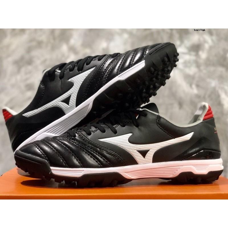 รองเท้าร้อยปุ่มหนังแท้100%  Mizuno Morelia II Pro AS พร้อมส่ง เท้าอวบเท้าบาน+1size ค่ะรองเท้ารองเท้าผู้ชายรองเท้าผู้หญิง