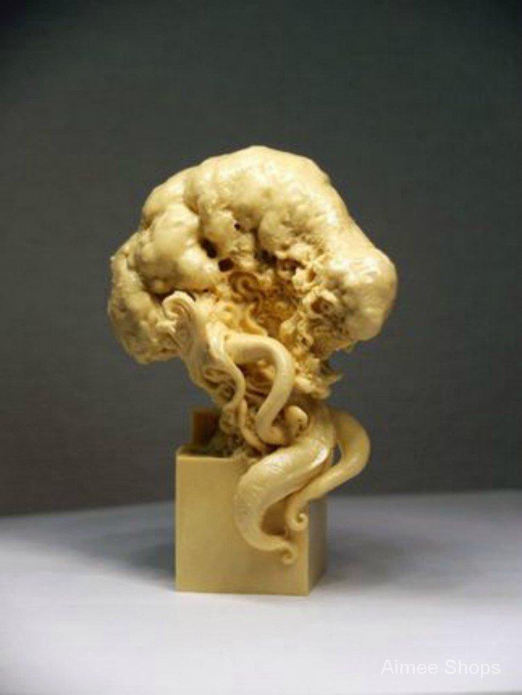 Resin Figure Kit Octopus Stamp Bust Garage Resin Kit wgzX