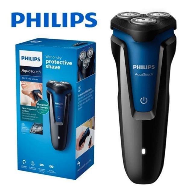 Philips(ฟิลลิปส์) AquaTouch เครื่องโกนขนไฟฟ้าเปียก และแห้ง S1030/04