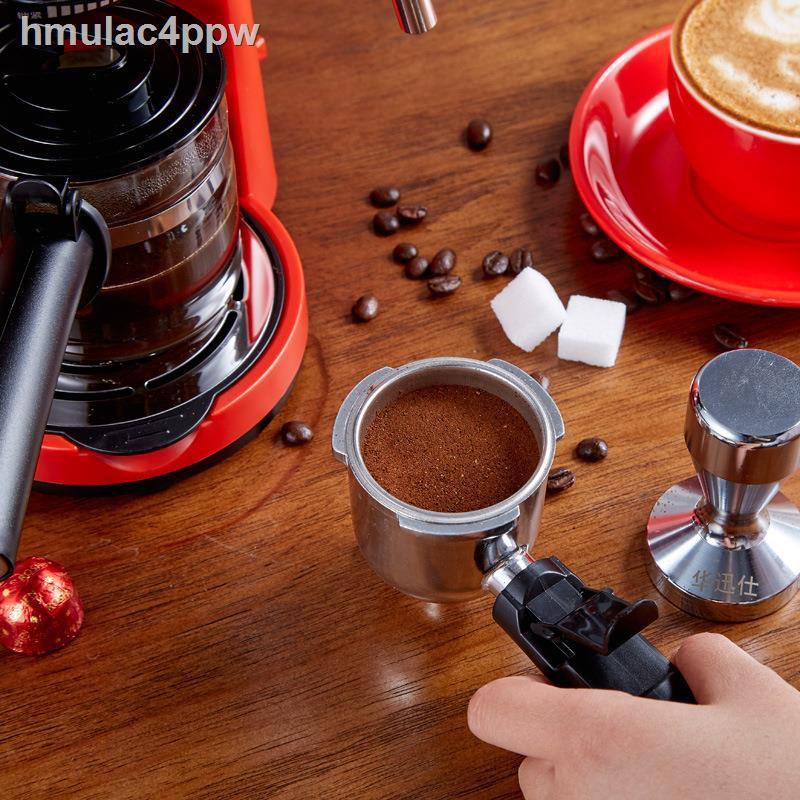 ♀✺เครื่องต้มกาแฟ เครื่องทำกาแฟกึ่งอัตโนมติ สตรีมฟองนมได้ เครื่องทำกาแฟขนาดเล็ก Hot shopping