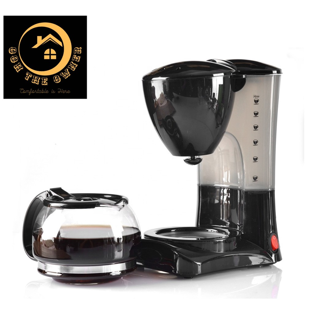 เครื่องชงกาแฟแบบหยดอัตโนมัติมินิขนาดเล็กเครื่องทำกาแฟเครื่องชงกาแฟอเมริกัน