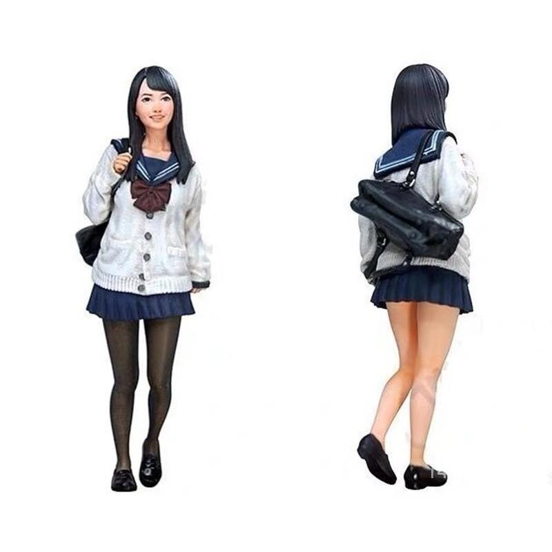 Resin Figure Kit 1/20 Jaanese Student Unainted Garage Resin Kit#¥%¥# bvWw