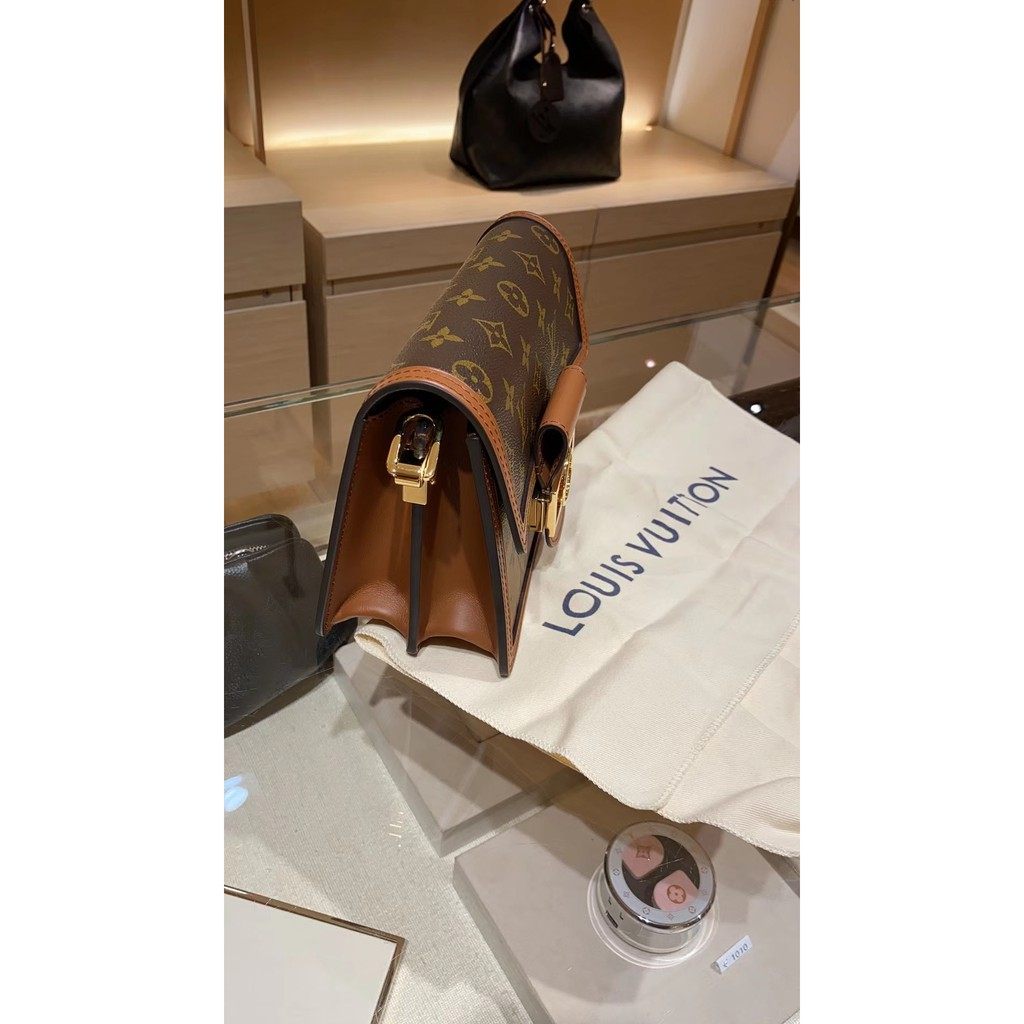 ≨ぉกระเป๋ากระเป๋าเดินทาง   กระเป๋าเป้สะพายหลัง★★★❤🔥🔥Lv Louis Vuitton Dauphine mini กระเป๋าสะพายไหล่เดี่ยว Daphne กระเป๋