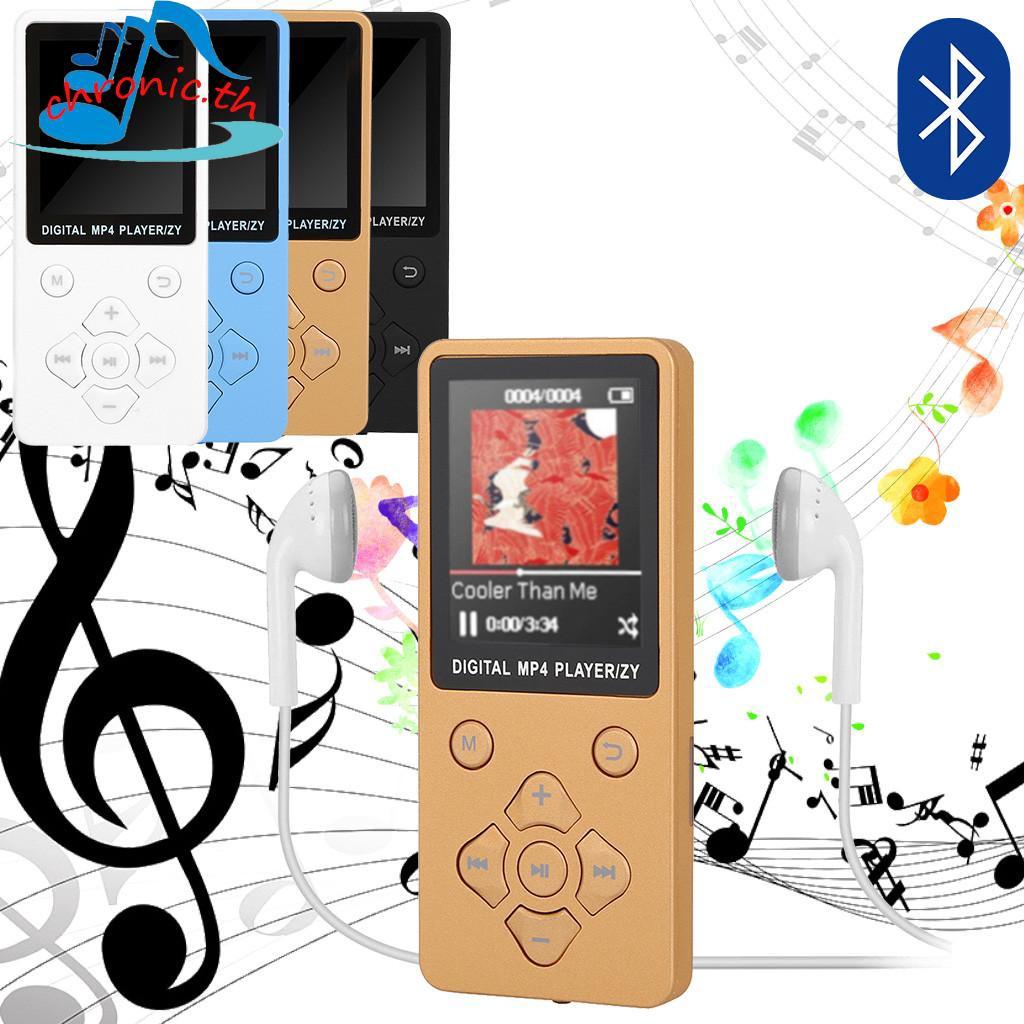 16GB HiFi bluetooth MP3 MP4 Player Lossless Recorder FM Radio Video Movie New