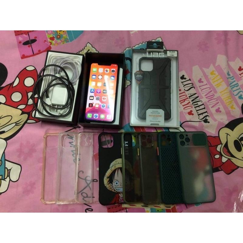 I phone 11 pro max 64GB(Midnight green)โมเดล TH ศูนย์ไทย มือสอง มีประกัน