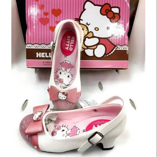 (2-5y)รองเท้าคัชชู Hello Kitty