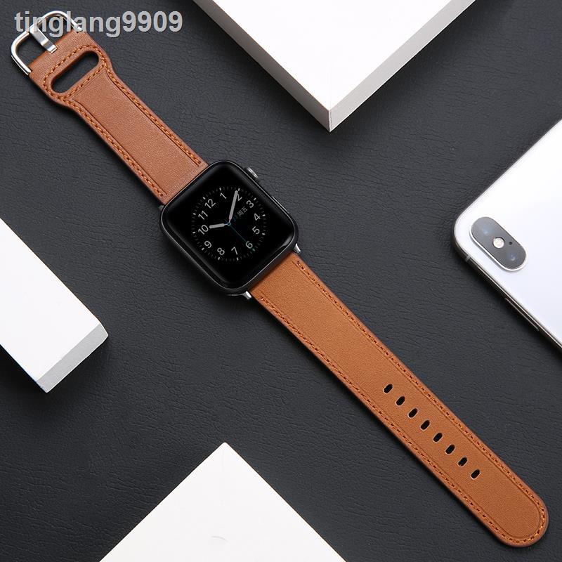 สายนาฬิกาข้อมือหนังสําหรับ Iwatch5 Applewatch6 / Se / 4 / 3