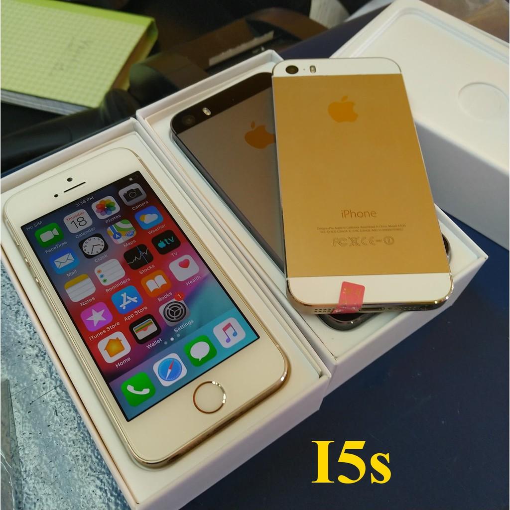 ไอโฟน iphone 5 5s 16gb ของแท้ ครบกล่อง (มือ2) 64G  มือ2 ใหม่ 99%new  โทรศัพท์มือถือมือสอง