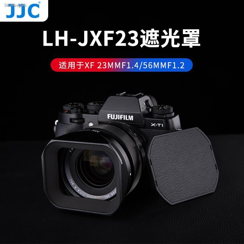 ฮูดกล้อง♧℡JJC เลนส์ฮูดเหมาะสำหรับเลนส์ Fuji XF23mmF1.4 XF56F1.2R APD โฟกัสคงที่ XT30 XH1 XT4 X-T4 กล้อง 62 มม.