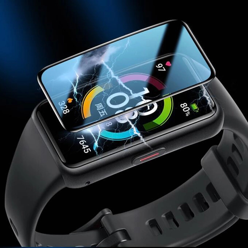 Huawei Honor Band 6 Screen Protector 3D Curved Soft Full Coverage Protective Film