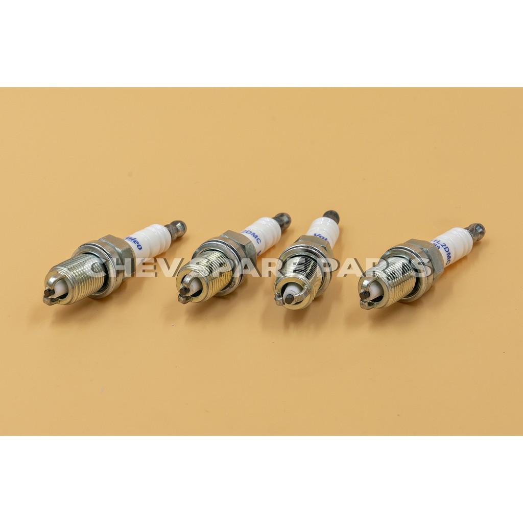 หัวเทียน 2.4 C100 CAPTIVA CHEVROLET เบนซิน 2,400 CC ปี 2007-2010, ZAFIRA ซาฟิร่า 1,800 CC VALEO (หัวเทียน 2 เขี้ยว)