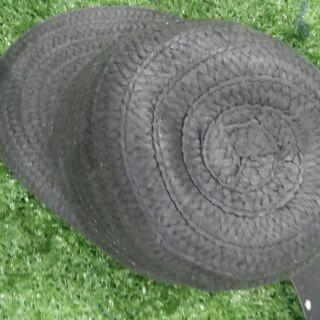 (เก็บเงินปลายทาง)หมวกแก๊บฟางwomen in black