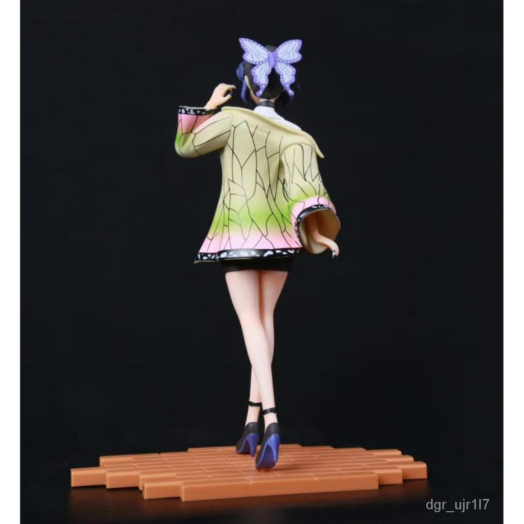 Demon Slayer's Blade Kochou Shinobu ect illar Sitting osture Standing osture Boxed Figure Birthday Gift Decoration Mode0