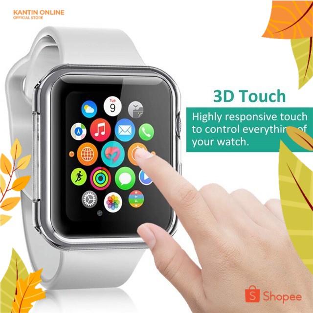 Applewatch เคสซิลิโคนใสคุณภาพดีสําหรับ Applewatch