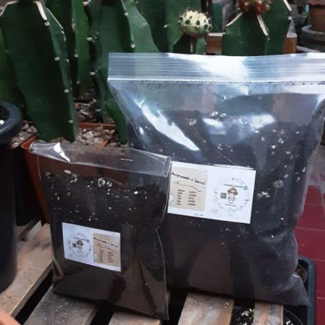 ดินปลูกแคคตัสและไม้อวบน้ำ ขนาด 150 /600 กรัม