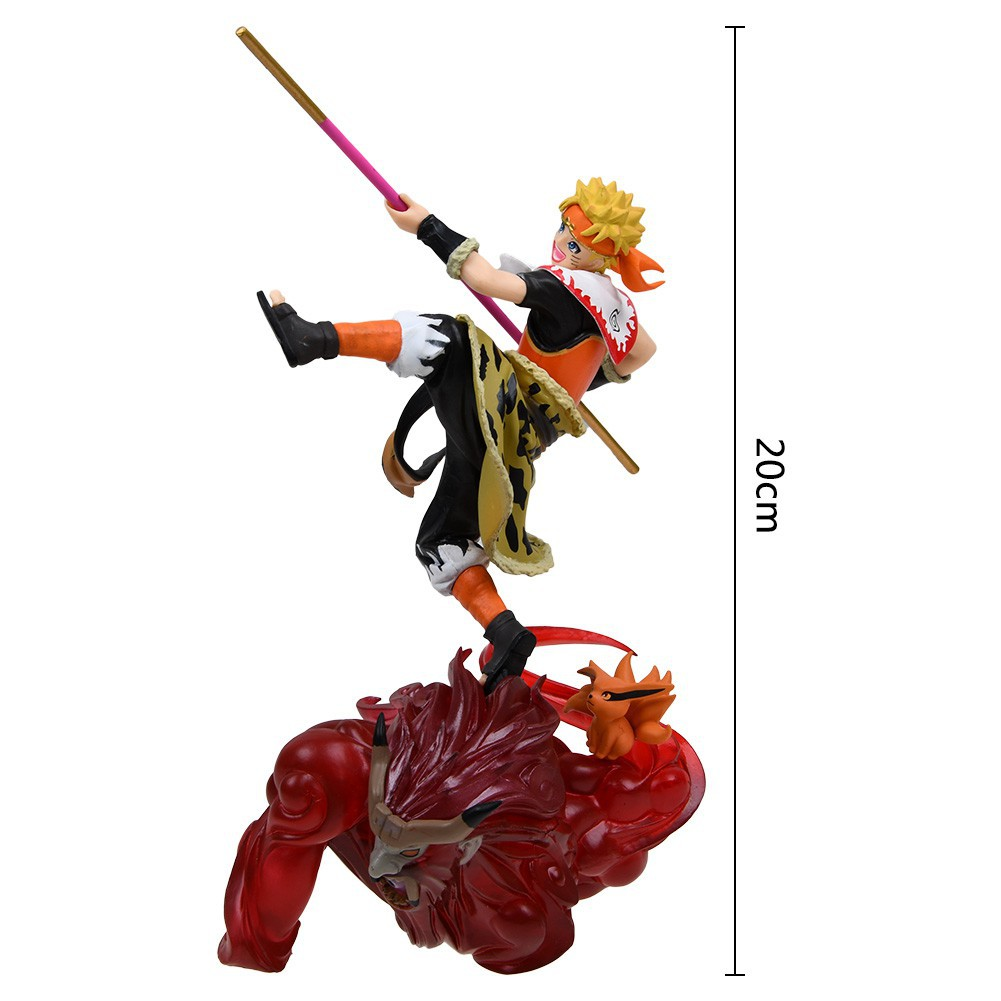 Remix Naruto Shippuden Uzumaki Naruto Monkey King Ver Figure New In Box G.E.M