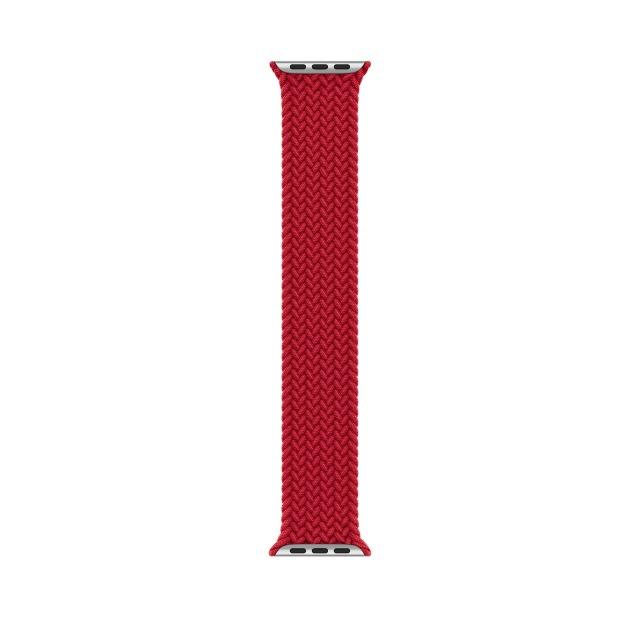 1:1 braided fabric สายนาฬิกาไนล่อน Apple Watch 6 44 มม 40มม 38 มม 42 มม series 6 se 5 4 3 2 1 สาย applewatch lD5b