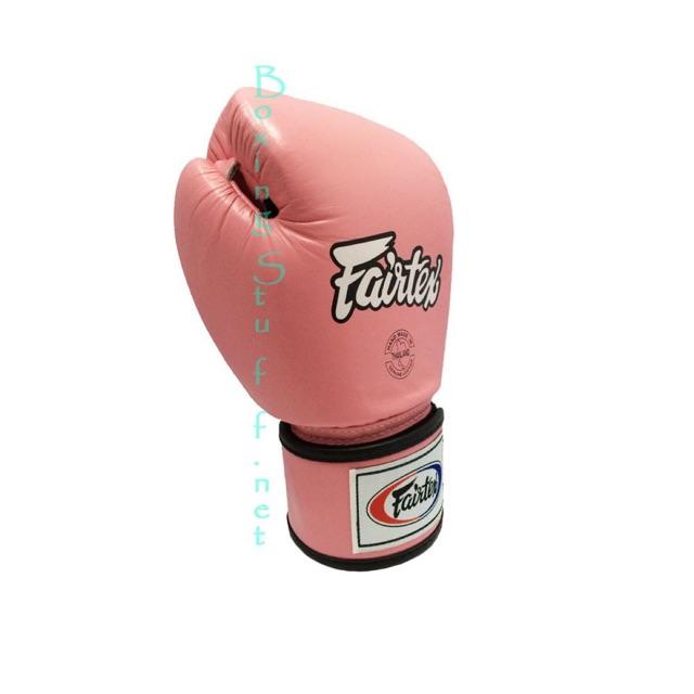 นวมชกมวย Fairtex BGV1 สีชมพู / Fairtex Pink Breathable Boxing Gloves