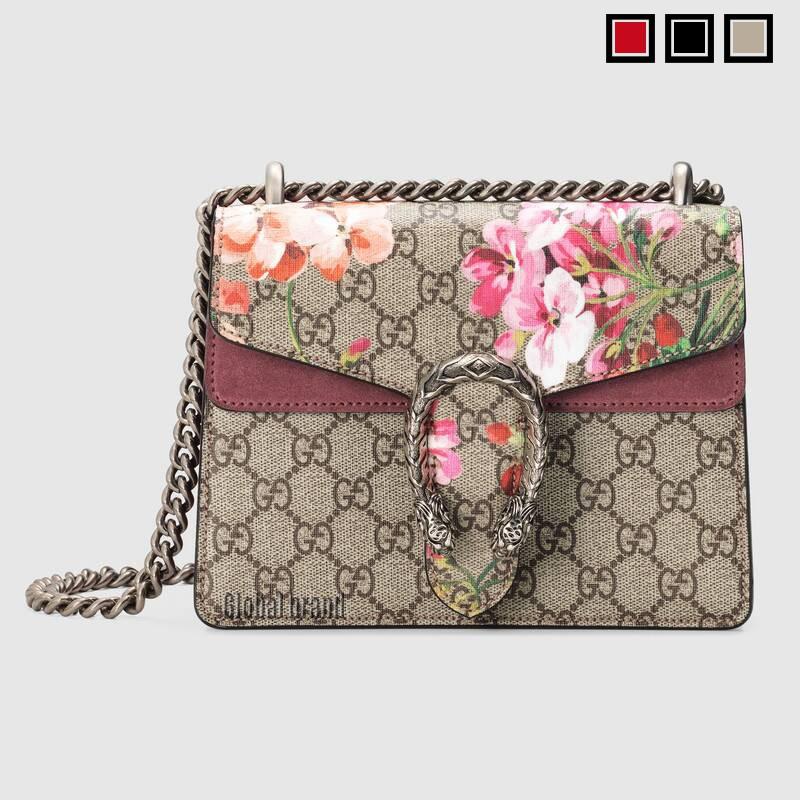 Gucci Dionysus Premium Faux Canvas Mini GG Shoulder Bag 421970