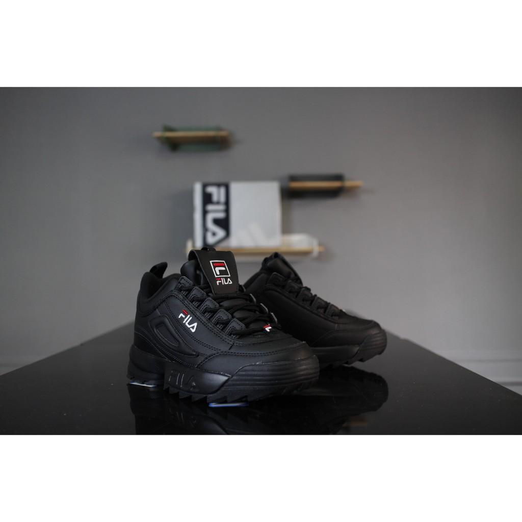 แท้ FILA รองเท้าลำลอง รองเท้าวิ่ง สีดำ   p301