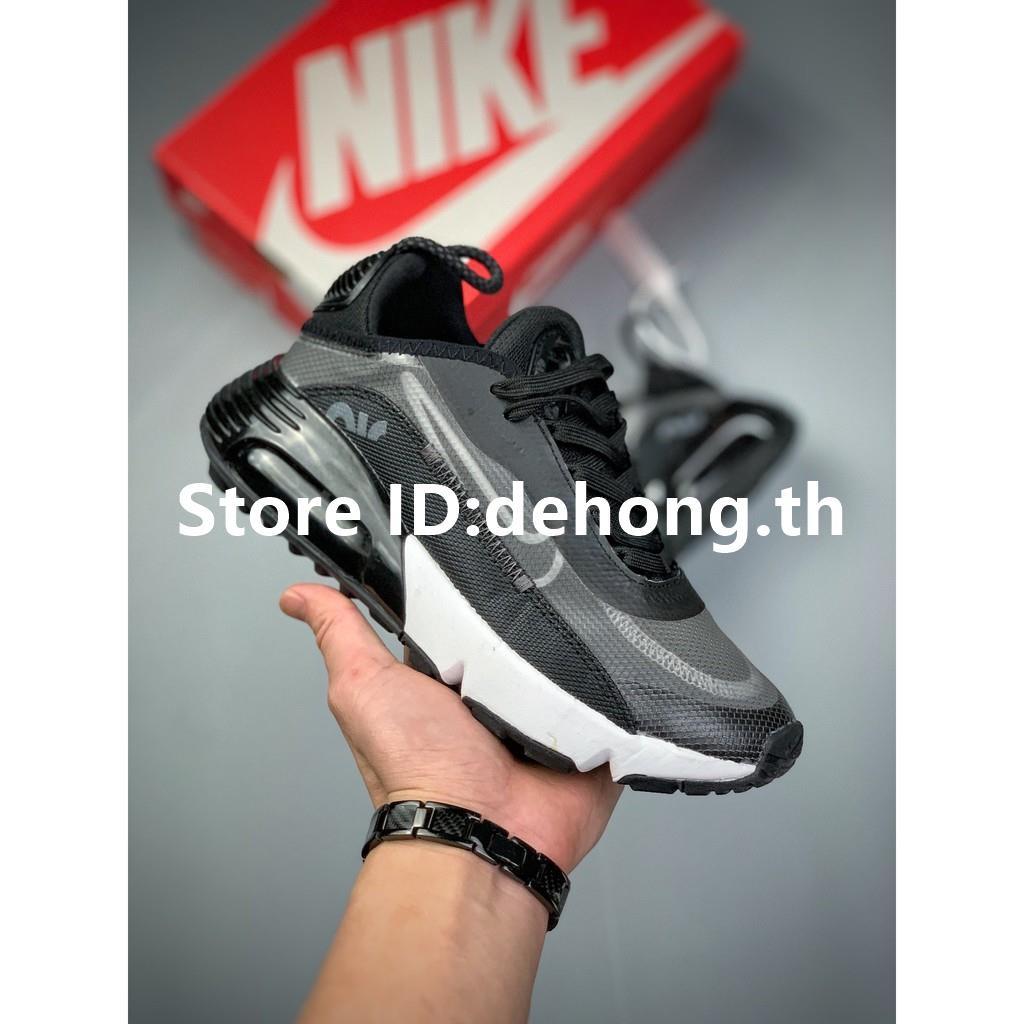 【dehong.th】Nike Air Max 2090White/Pure Platinumรองเท้าวิ่งออกกำลังกาย