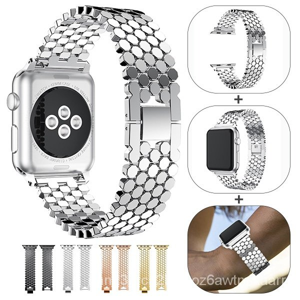 Stainless steel Band strap for Apple Watch Series 5 4 3 2 38MM 42MM  Replacement Strap For iwatch 40MM 44MM Watch Access