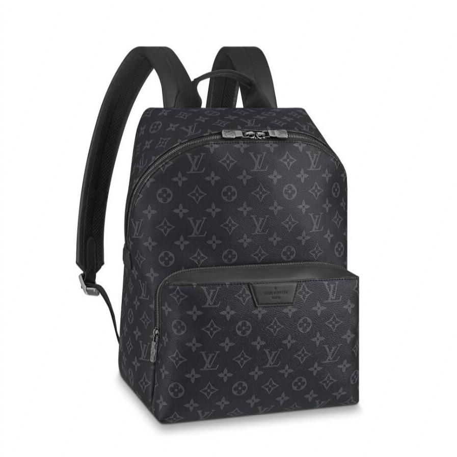 ต้นฉบับ 100%SEVENADY Louis Vuitton ซื้อของแท้จากยุโรป กระเป๋าเดินทางสำหรับผู้ชาย DISCOVERY BACKPACK PM M43186