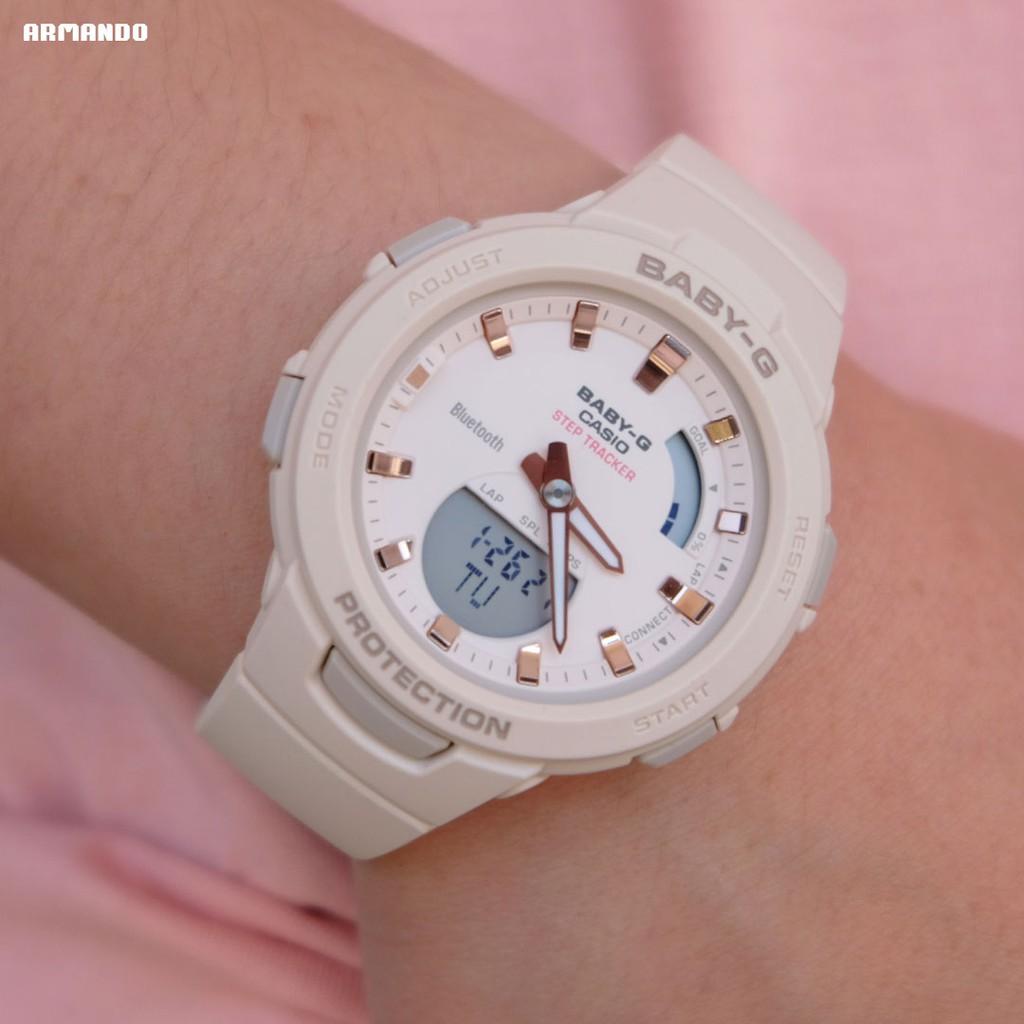 applewatch series 6❄Casio นาฬิกา BABY-G รุ่น BSA-B100-4A1,BSA-B100-4A2 - Armando