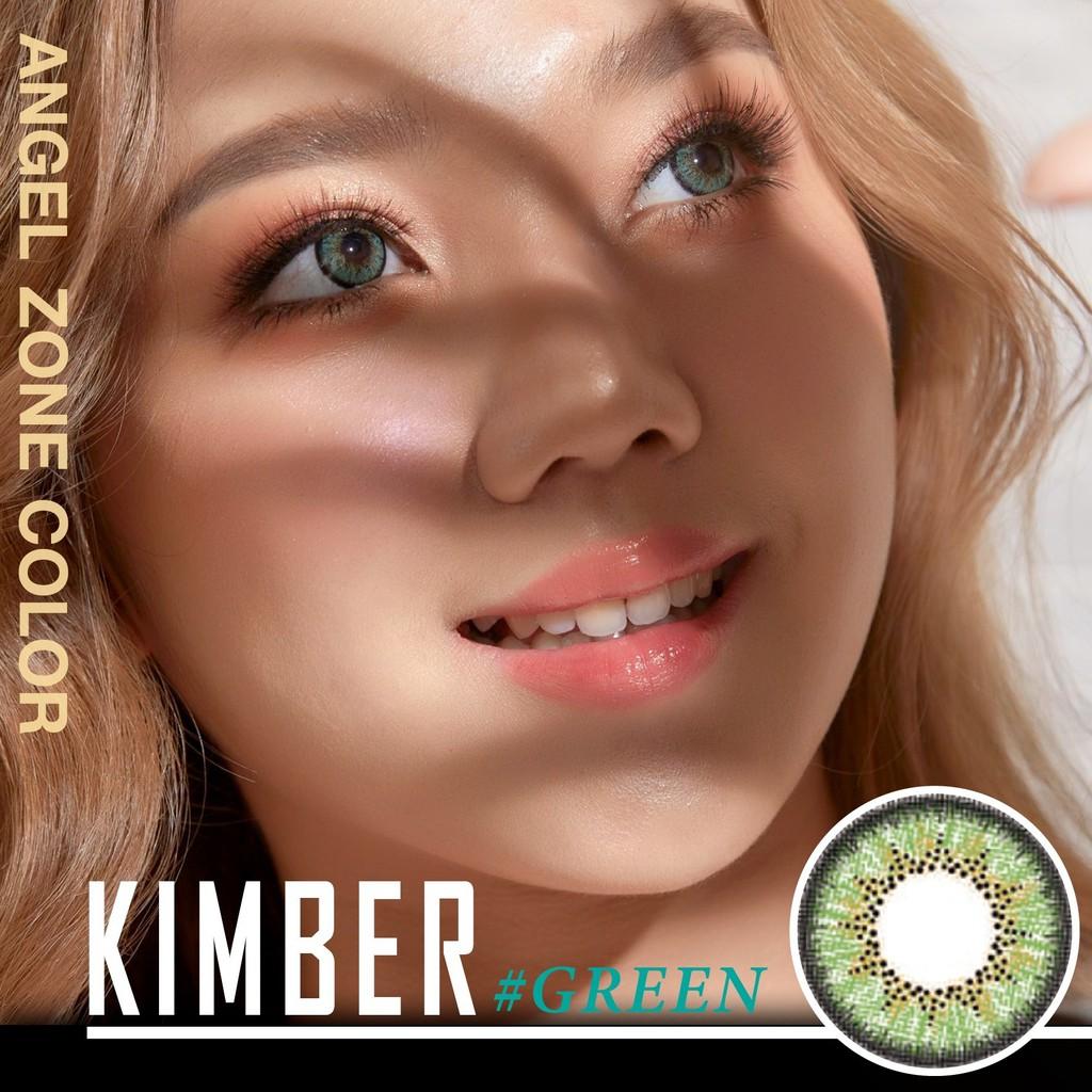 Angelzone คอนแทคเลนส์ รายเดือน - Kimber Green - Angel Zone