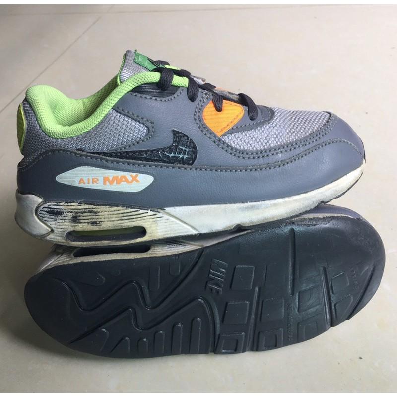 รองเท้าเด็ก Nike Air Max 90 แบรนด์แท้มือสอง ไซส์ 27 ยาว 16 cm