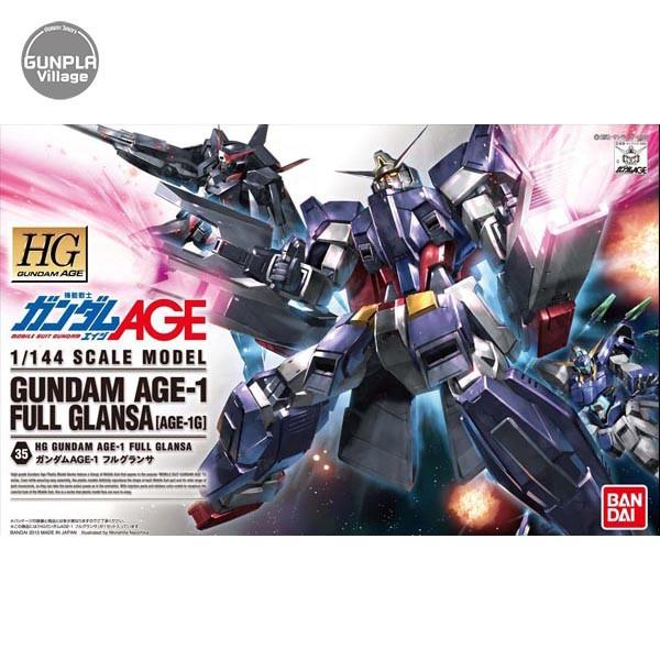Bandai HG Gundam AGE-1 Full Glansa 4573102573902