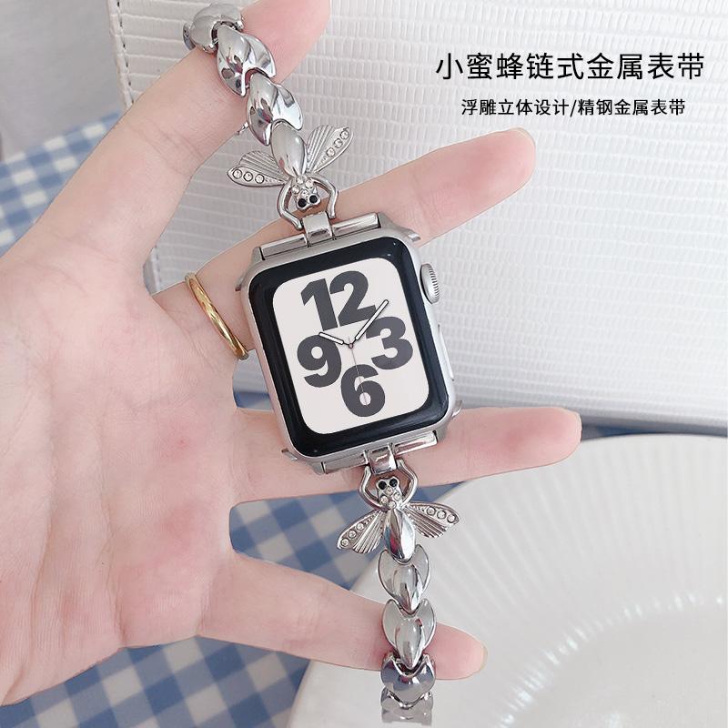 สายนาฬิกาข้อมือโลหะสําหรับ Applewatch Iwatch