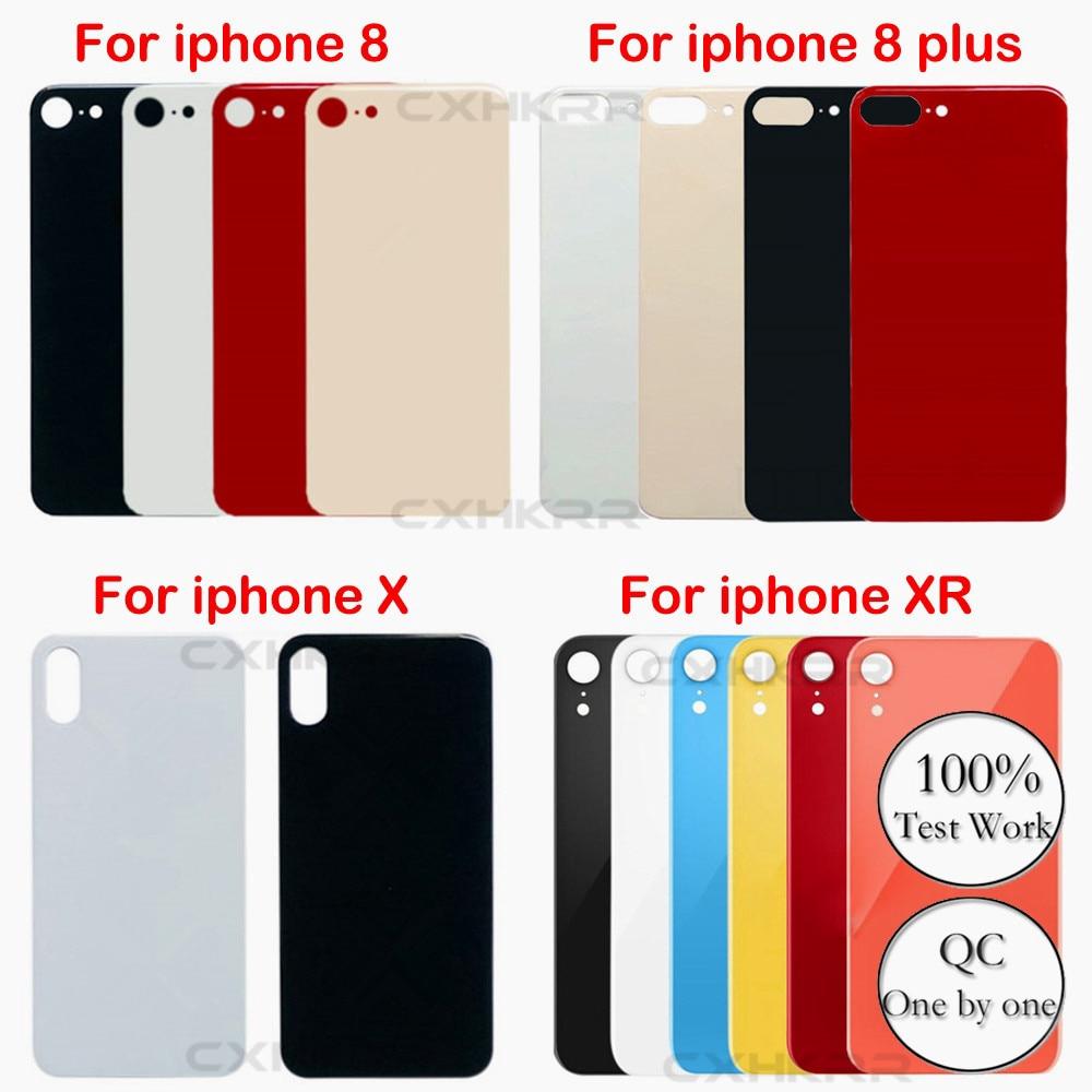 อะไหล่มือถือ ฝาหลัง รุ่น Apple iPhone 8 8plus X XS XR Back Glass Battery Cover