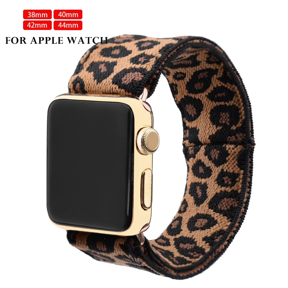 Apple watch elastic band, apple watch elastic band, 5 pieces 38mm and 42mm, 40mm, 44mm, series 543 21