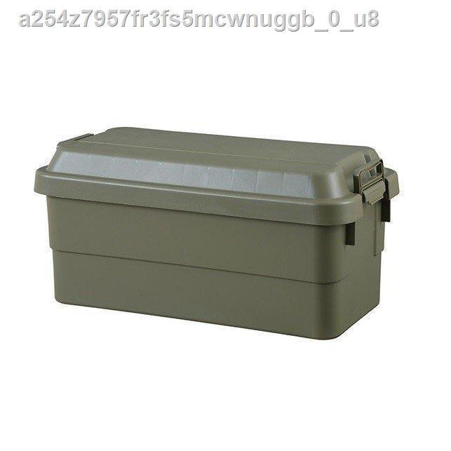 🔥สัตว์เลี้ยง🔥♀✾Trusco Trunk Cargo กล่องเก็บของ 70L Olive Drab (OD)