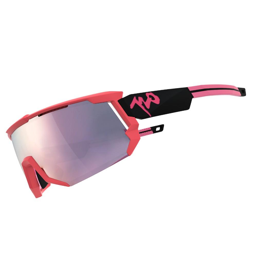 แว่นตากันแดด 720armour รุ่น Mars สีกรอบ Watermelon Pink สีเลนส์ Smoke Pink Flash
