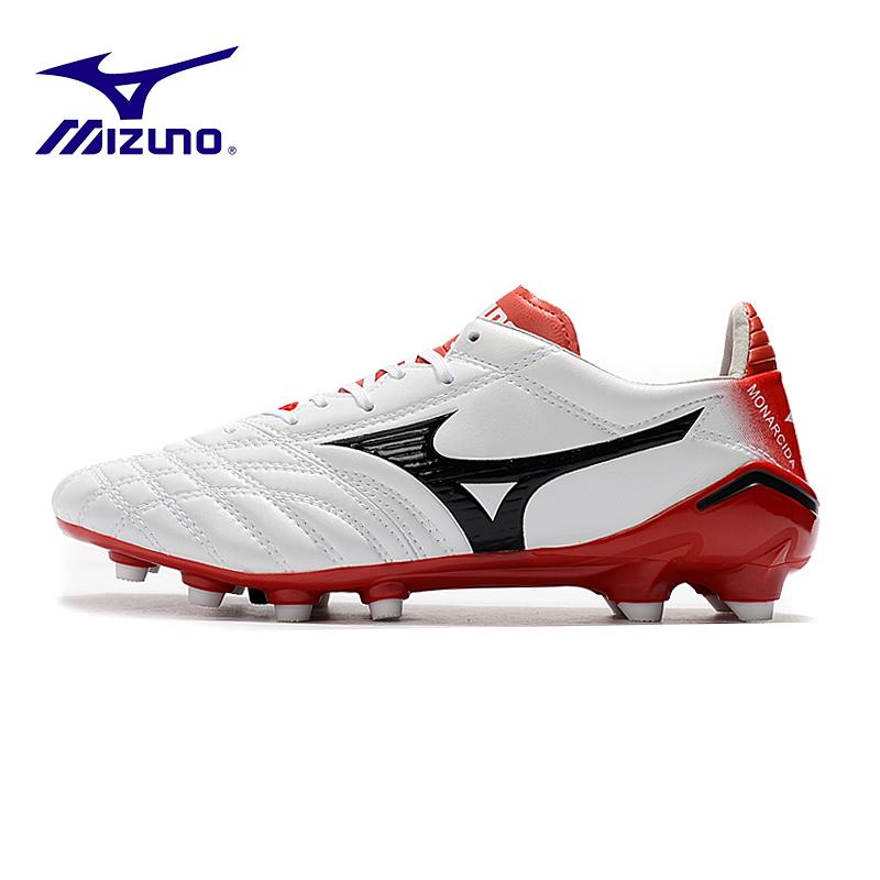 Mizuno(มิซูโน่) Morelia Neo II FG รองเท้าฟุตบอล Mizuno Moreira series FG รองเท้าฟุตบอล 39-45 ขาวแดง