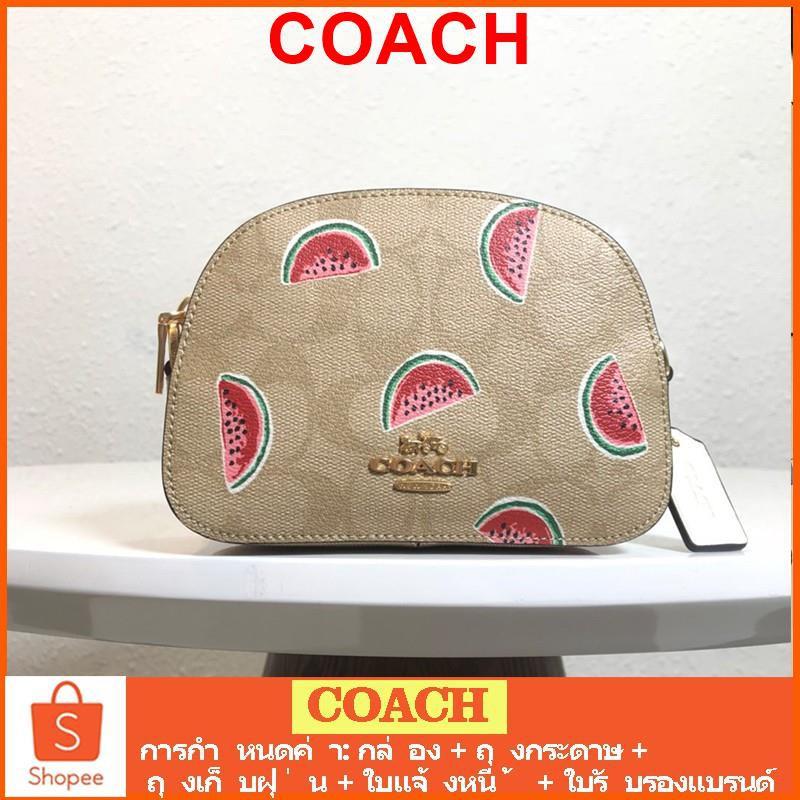 coach กระเป๋าสะพายข้าง/2627/กระเป๋าสะพายข้างผู้หญิง/coach crossbody bag/กระเป๋าผู้หญิง