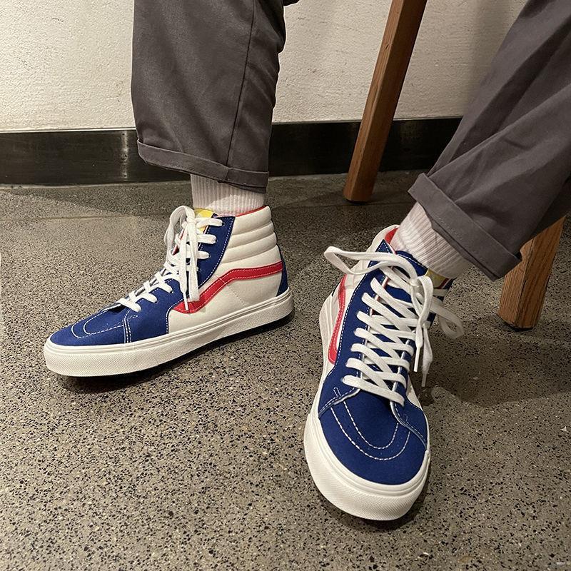 [ของแท้]ยางยืดออกกําลังกาย♂❒รองเท้าผ้าใบ  ขายด่วน Vance Dodo ฤดูใบไม้ผลิรองเท้าผ้าใบคลาสสิกรุ่นใหม่เกาหลีรองเท้านักเรีย