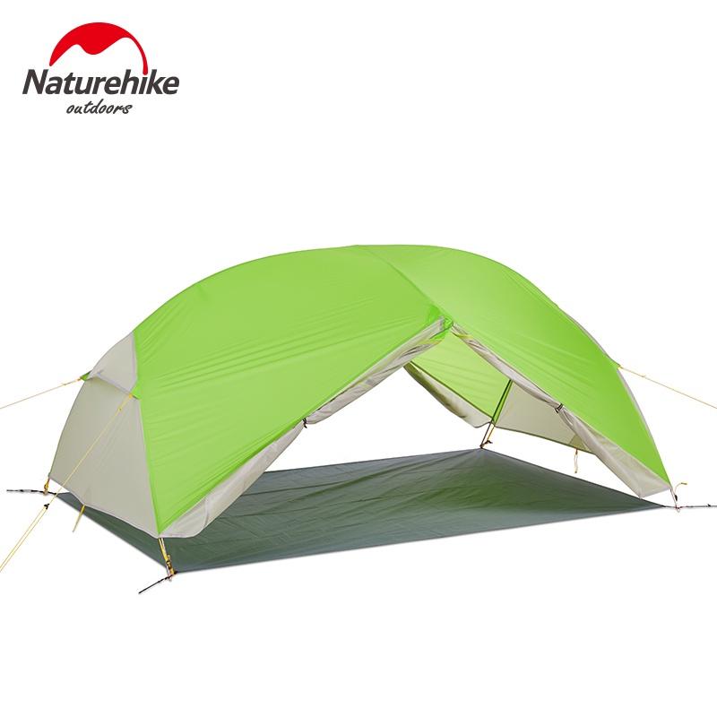 เต็นท์แคมปิ้ง Naturehike Factory Store Mongar 2 Caming Tent Double Layers 2 erson Waterroof Ultralight Dome Tent ที่พักพ