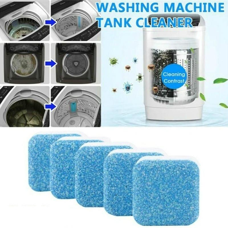 1 pc Washing Machine Cleaner Washer Cleaning Detergent Effervescent Tablet Cleaner Washing Machine Home Cleaning Tools