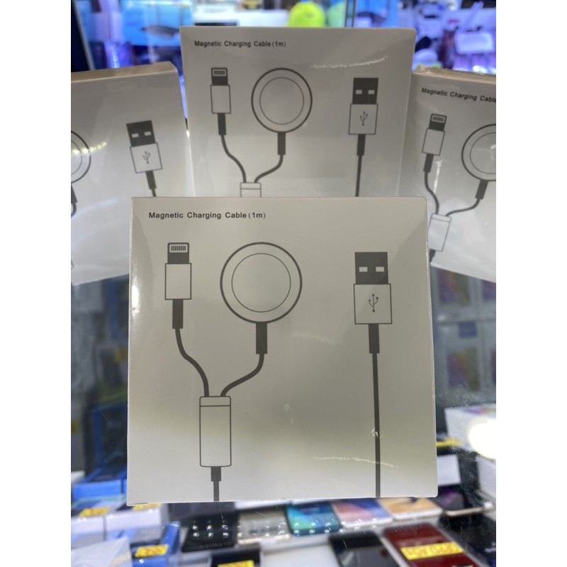 สายชาร์จไอโฟน+AppleWatch Wireless Charger