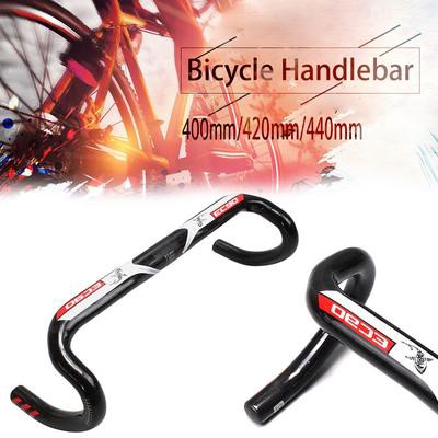 Carbon Fiber Bicycle Handlebar Road Bike 31.8 ultraLight Drop Bar Bent Handlebar
