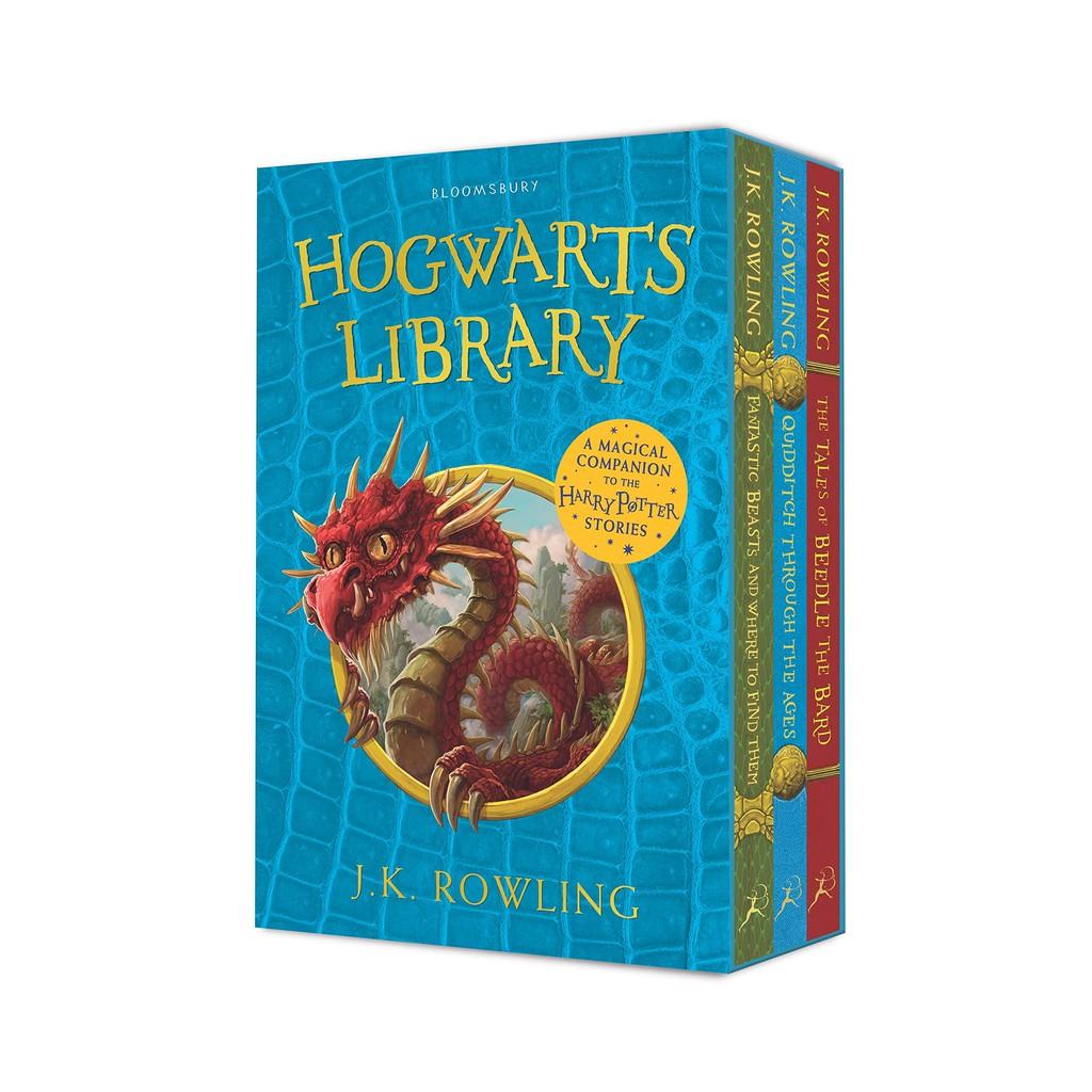 Asia Books หนังสือภาษาอังกฤษ HOGWARTS LIBRARY BOX SET, THE (3 BOOKS)