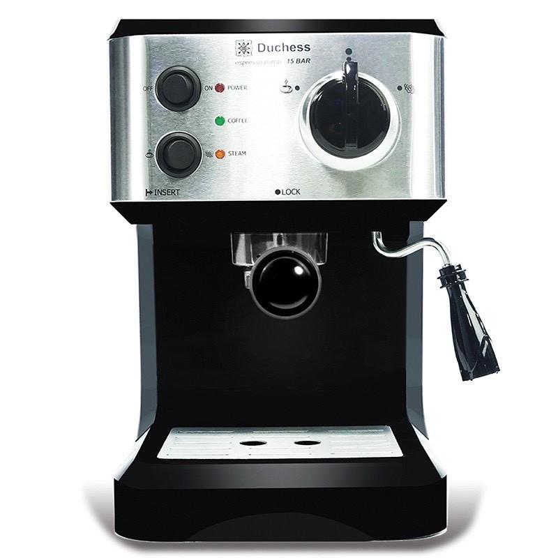 สินค้าคุณภาพ เครื่องทำกาแฟ เครื่องชงกาแฟสด Duchessรุ่น CM3000B แถมฟรี!! ก้านชง+ฟิลเตอร์1และ2ช็อต+ช้อนตักกาแฟ  ถูกที่สุด