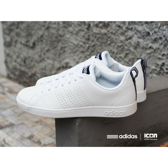 รองเท้าผ้าใบAdidas Neo Advantage Clean Vs - รองเท้าผ้าใบลําลองสีน้ำเงิน