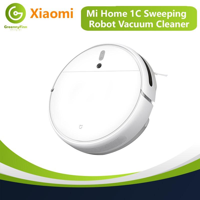 Xiaomi Mijia Mi home 1c Sweeping robot Vacuum cleaner (แถมฟรี!!ที่กดเจลล้างมือ)